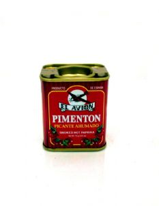 Smoked Hot Paprika [Spanish Pimenton Picante Ahumado] | Buy Online at The Asian Cookshop.
